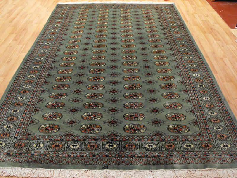 pakistan bokhara green rug - Bokhara Rug