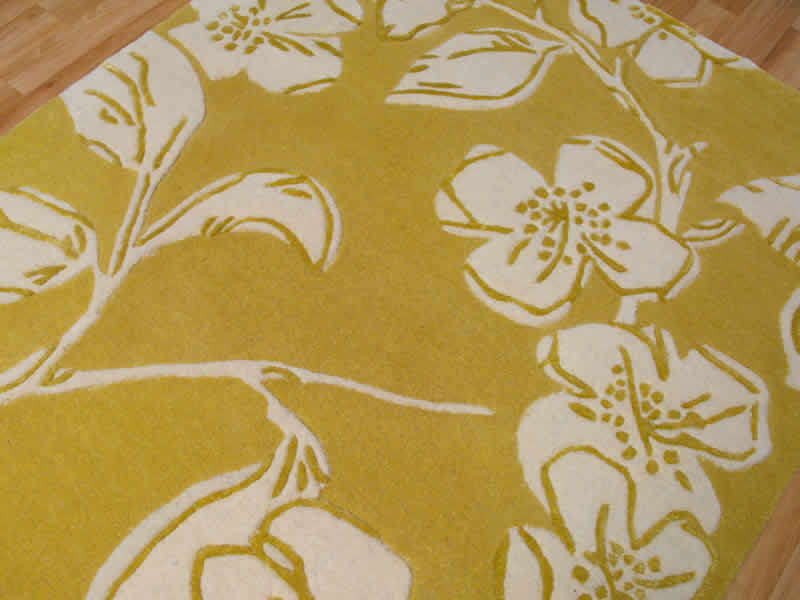 Matrix Devore Yellow