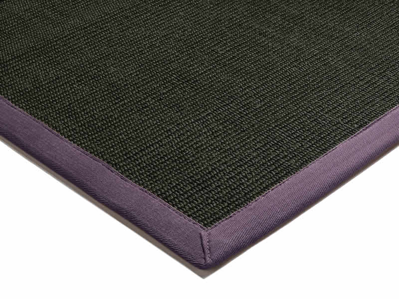 Sisal Black - Purple