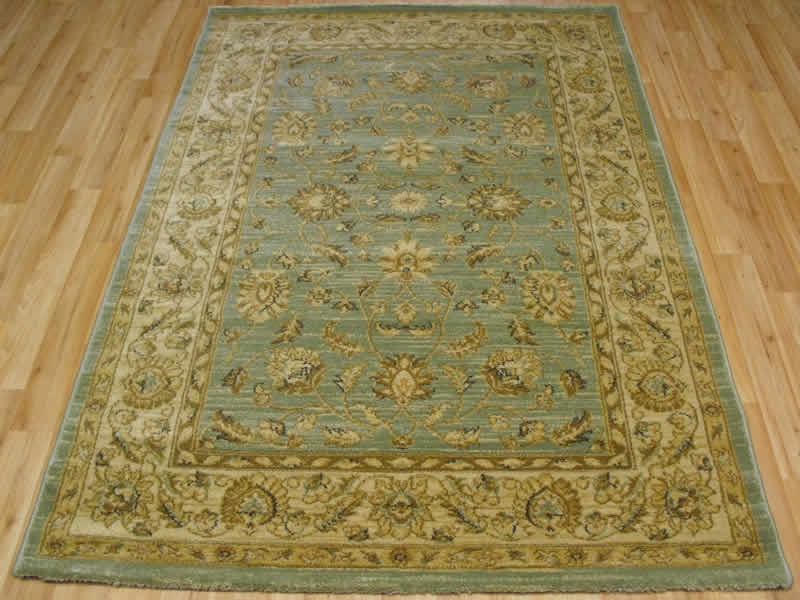 Ziegler rugs roselawnlutheran for Green and cream rugs