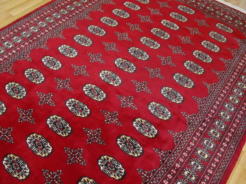 Pakistan Bokhara Red Bokhara Red 163 135 00 Rugs Centre