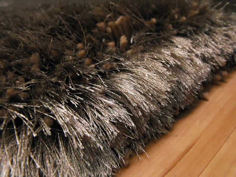 Plush Taupe Shaggy Rug Plush Taupe 163 117 00 Rugs Centre