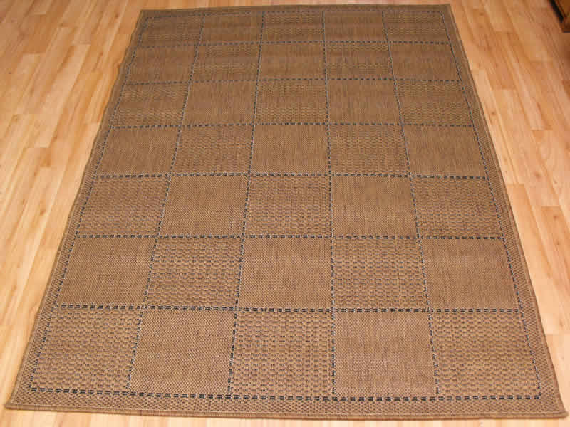 Checked Flatweave Rugs